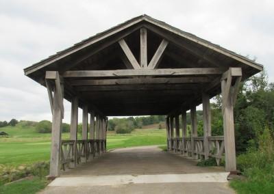 Hawks View Golf Course Hole 10 Bridge