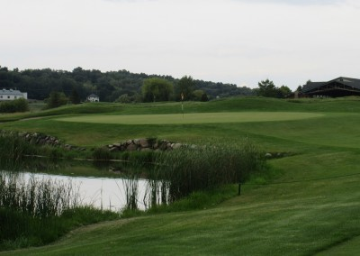 Hawks View Golf Course Hole 13 Approach