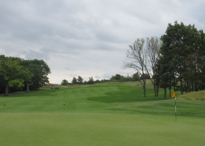 Hawks View Golf Course Hole 4 Green
