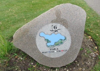 Hawks View Golf Course Hole 6 Sign