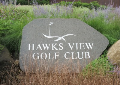 Hawks View Golf Course Rock