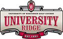 Wisconsin Golf Courese - University Ridge Golf Course Logo