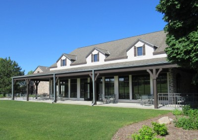 The Bog Golf Course Clubhouse Back