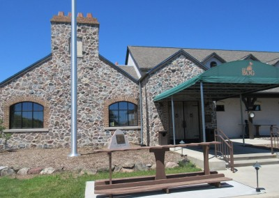 The Bog Golf Course Clubhouse Entrance