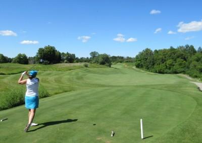 The Bog Golf Course Hole 14 Tee Shot