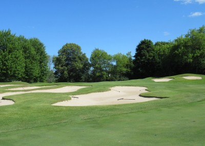 The Bog Golf Course Hole 17 Approach