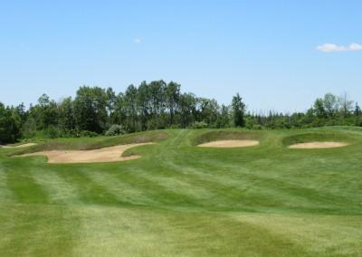 The Bog Golf Course Hole 3 Long Approach
