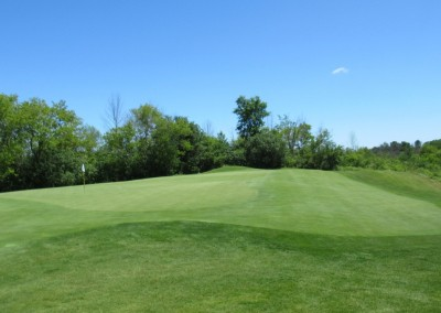 The Bog Golf Course Hole 6 Green