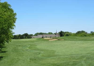 The Bog Golf Course Hole 7 Approach