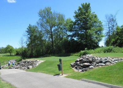 The Bog Golf Course Hole 7 Tee Boxes