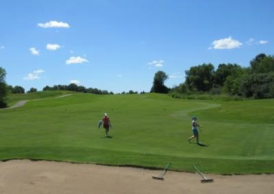 The Bog Golf Course Hole 9 Fairway
