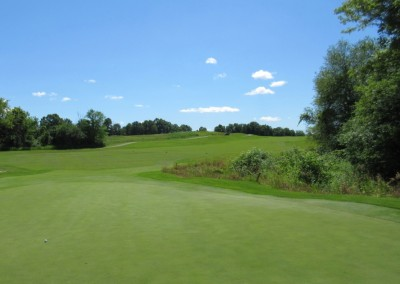 The Bog Golf Course Hole 9 Green
