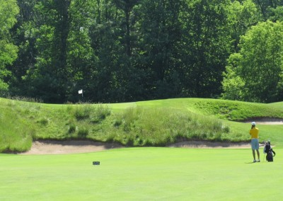 The Bull at Pinehurst Farms Hole 13 Approach