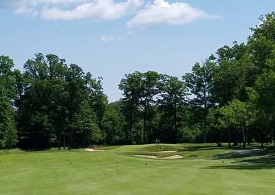 The Bull at Pinehurst Farms Hole 4 Approach View