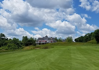 The Bull at Pinehurst Farms Hole 9 Approach