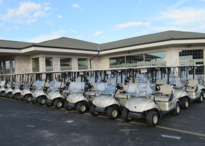 Thornberry Creek Golf Course Staging Area
