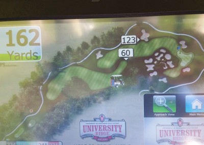 University Ridge Golf Course Hole 16 GPS