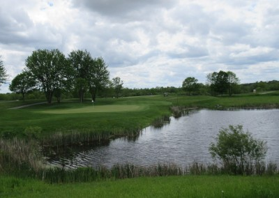 Washington County Golf Course Hole 14 Water Hazard