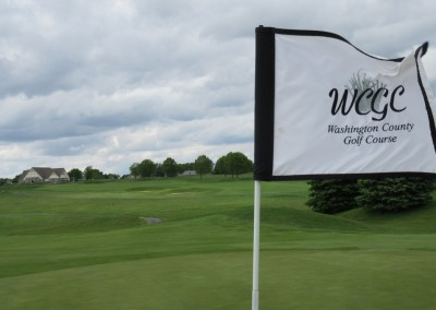 Washington County Golf Course Hole 17 Flag