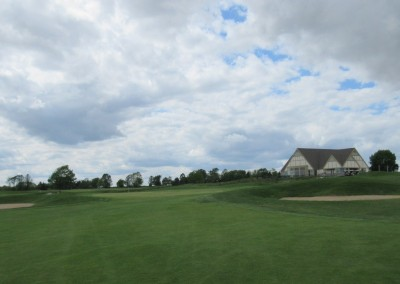 Washington County Golf Course Hole 18 Approach