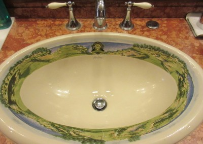 Whistling Straits - Clubhouse Locker Room Sink