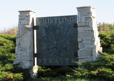 Whistling Straits - Entrance Sign