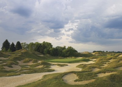 Whistling Straits Irish Course Par 3 Bunkers