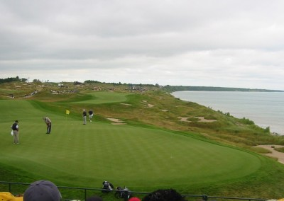 Whistling Straits Straits Course 2004 PGA Hole 16 Green