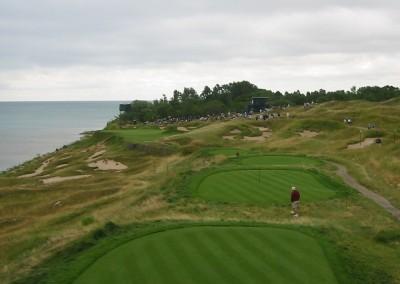 Whistling Straits Straits Course 2004 PGA Hole 17 Tee