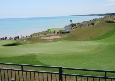 Whistling Straits Straits Course 2015 PGA Hole 6 Green