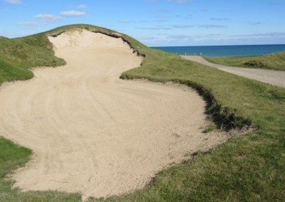 Whistling Straits - Straits Course Hole 11 Sand Box Tall Bunker