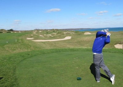 Whistling Straits - Straits Course Hole 11 Sand Box Tee