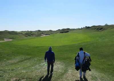 Whistling Straits - Straits Course Hole 14 Widow's Walk