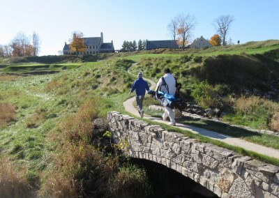 Whistling Straits - Straits Course Hole 18 Dyeabolical Bridge