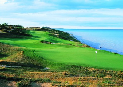 Whistling Straits Straits Course Hole 4 Green