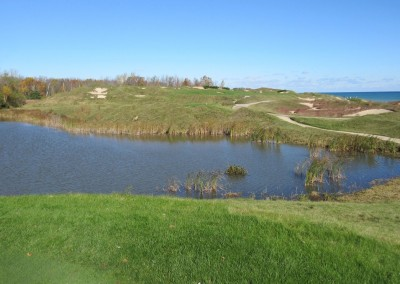 Whistling Straits - Straits Course Hole 6 Gremlin's Ear Tee