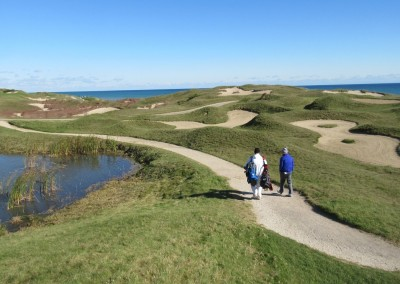 Whistling Straits - Straits Course Hole 6 Gremlin's Ear Walkway