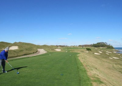 Whistling Straits - Straits Course Hole 8 On The Rocks Tee