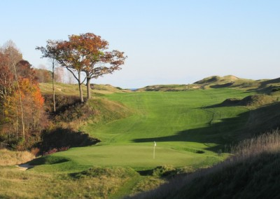 Whistling Straits - Straits Course Hole 9 Down and Dirty