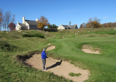 Whistling Straits - Straits Course Hole 9 Down and Dirty Bunkers