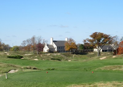 Whistling Straits - Straits Course Hole 9 Down and Dirty Tee