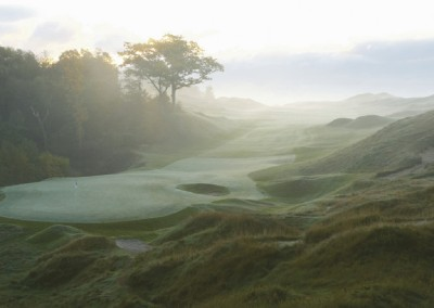 Whistling Straits Straits Course Hole 9 Green