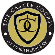 Wisconsin Golf Courses - The Castle Course at Northern Bay Logo