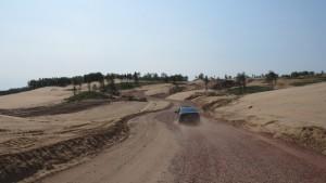 Sand Valley Golf Resort Entrance