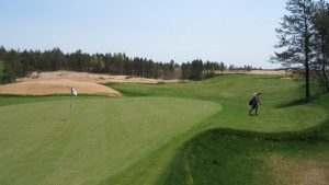 Sand Valley Golf Resort Hole 7 Green