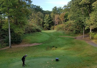 Trappers Turn Golf Club Canyon Hole 7 Forward Tee