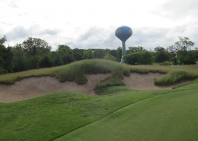 Wild Rock Golf Club Hole 3 Bunker
