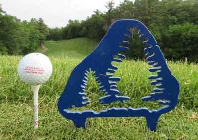 Wild Rock Golf Club Tee Marker