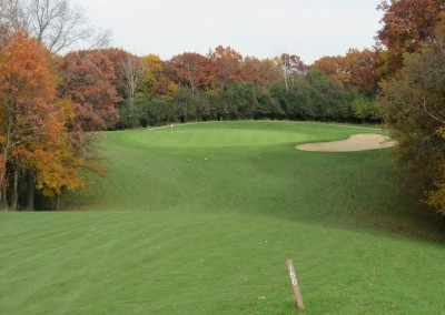 Naga-Waukee Golf Course Hole 10 Short Approach