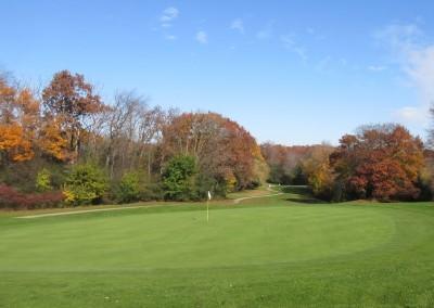 Naga-Waukee Golf Course Hole 13 Green